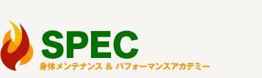 都筑区・センター北で整体なら「SPEC(スペック)」 ロゴ
